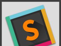 Slack sublime text logo inclined