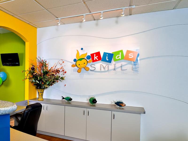 Dribbble   logo kids smile pediatric dentistry   office sign