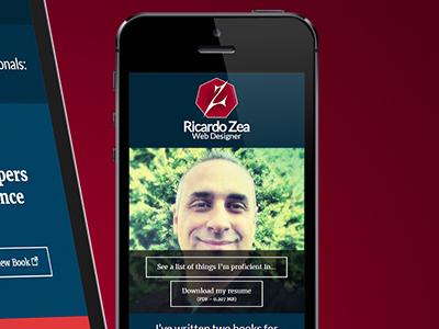 Redesigned portfolio site: ricardozea.design ricardozea ricardozea.design