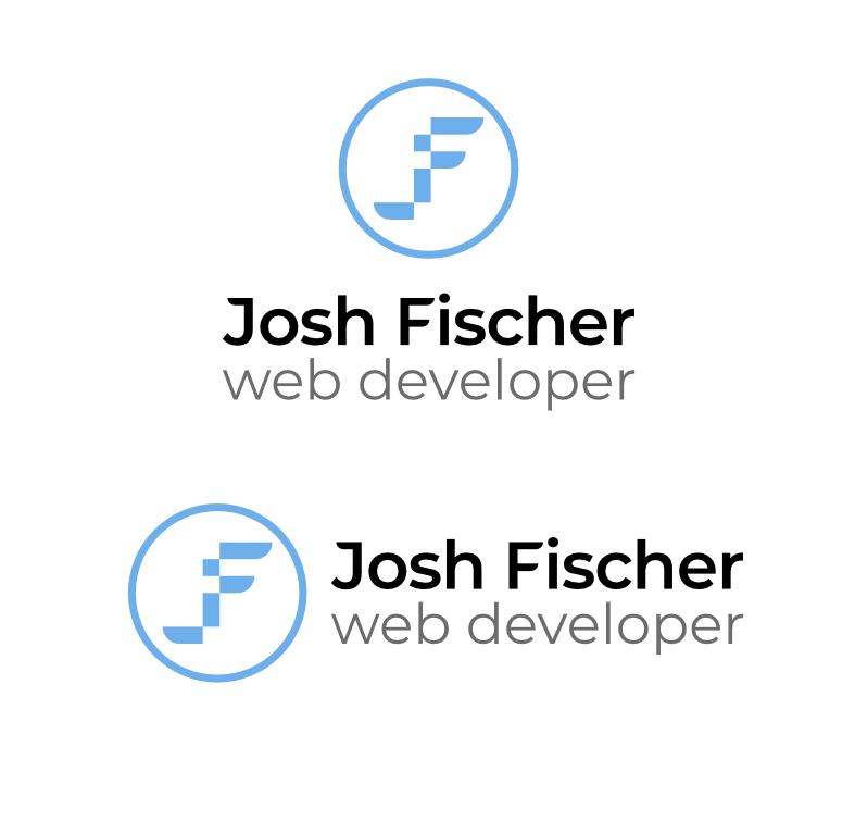 Josh fischer web developer vertical horizontal logos