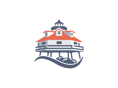 One logo three ways - 2 logo illustration lighthouse