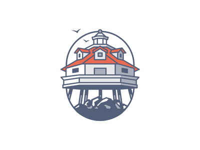 One logo three ways - 3 illustration lighthouse