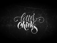 Letter Chicks