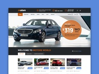 Motors - Automotive Dealership WordPress theme