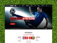 Splash Soccer WordPress theme