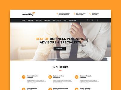 Consulting WordPress theme Shanghai Layout wptheme premiumtheme themeforest wordpress business consulting