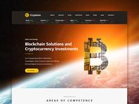 Crypterio - Bitcoin Wordpress theme