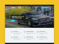 Motors WP theme - Car Repair Service layout