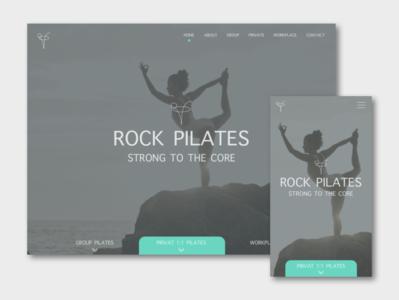 Yoga vector website branding app ux ui design