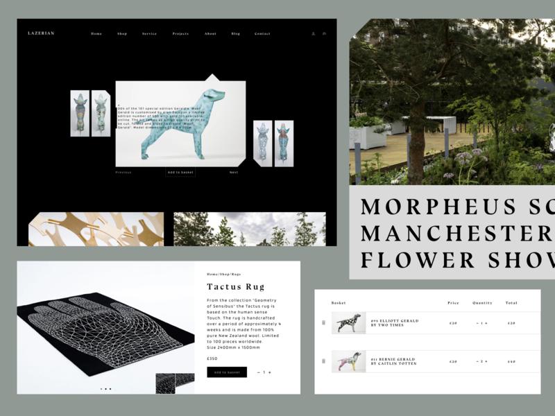 Lazerian uidesign web web design minimalistic figma ui design
