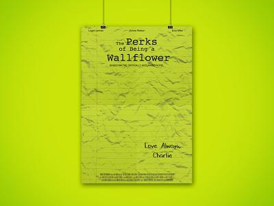 Perks Poster design print mockups movie poster poster design