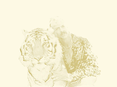 Tiger King 🐯 processing3 quarantine emoji portrait generativeart tiger king tiger processing