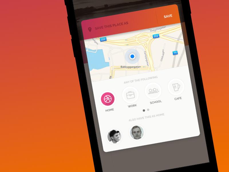 Vinka - Keep your family closer ios app map gelocation clvisit modal iphone vinka signup sounden form