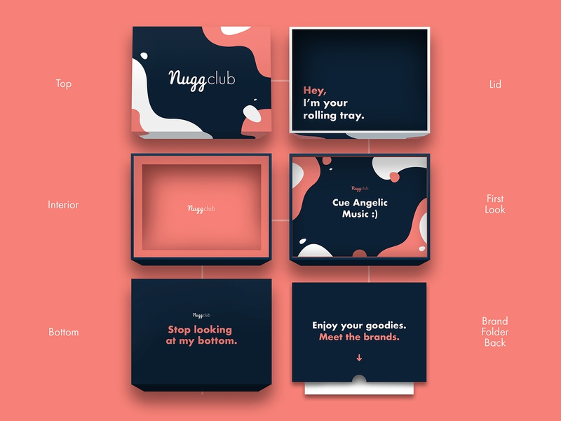 Nugg Club Package Design package mockup package design copywriting cannabis branding cannabis design branding design brand design creative direction