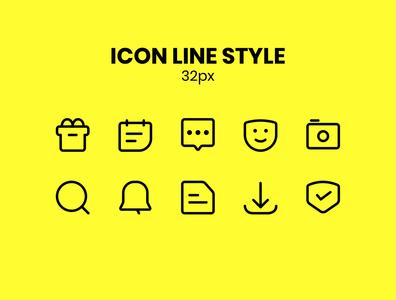 Icon Set Line