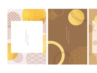Abstract background in oriental style. Chinese new year banner. border frame gold foil template geometric illustration circle design wave modern asian chinese background vector abstract pattern japanese banner illustration