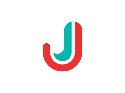 J startup logo colorful minimal text logo j alphabet letter logo j logo design logos flat creative logo brand identity flat logo minimalist branding