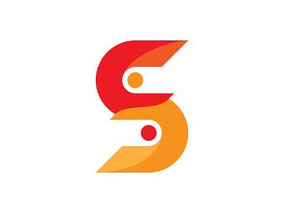 Tech S startup logo design startup logo minimalist logo design letter logo design text logo s letter logo s logo tech s logo design logos flat creative logo brand identity flat logo minimalist branding