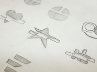 Emotion Measuring - Logo Sketches