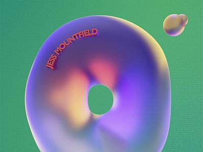 5 Questions with: Jess Mountfield after effects design blender3dart blender3d illustration blender animation
