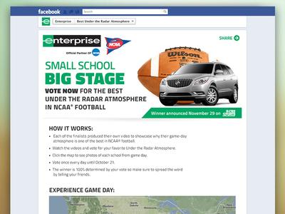 Enterprise NCAA Football Stadium Contest