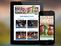 GEICO 2014 Play of the Year Facebook Application