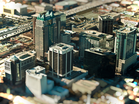 Downtown Orlando Tilt Shift