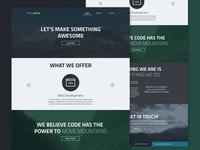 WEEL Digital Homepage Design