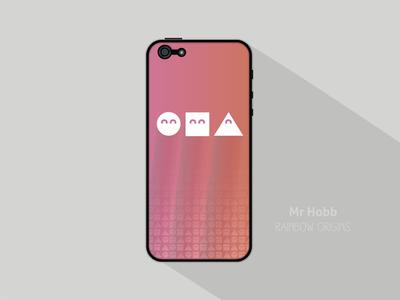 Rainbow origins iPhone case