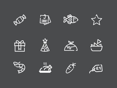 Various custom icons