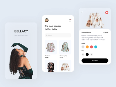 Mobile App - Fashion trendy design app mobile app typhography minimalist clean fashion fashion app style ui design ux design outfit collection brand clothing design shopping app mobile soft