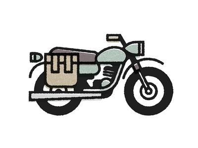 Vietnam motorcycle minsk vietnam illustration
