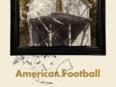 American Football NYC Reunion Poster