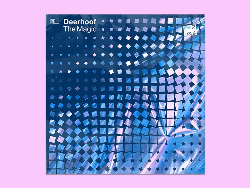 10x16 — #2: The Magic by Deerhoof deerhoof album art 10x16