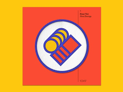 10x17 — #7: New Energy by Four Tet