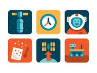 Nasa Playbook Icons