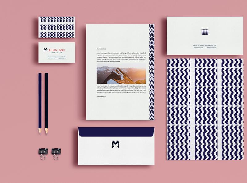 stationeryuldesign icon minimal branding illustration vector logo design mirage