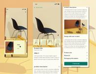 BLANK e commerce app design