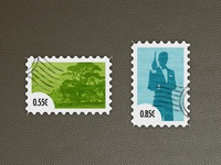 Stylish Postage Stamps