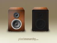 Wood Speaker Icon