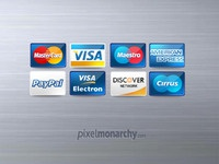 Credit / Debit Cards Icons