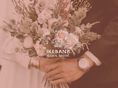IkebanaFloralDesign branding uidesign design