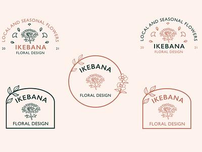 IkebanaFloralDesign-Branding branding design