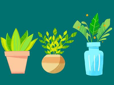 Procreate Artwork - Go Green! vector procreate illustration