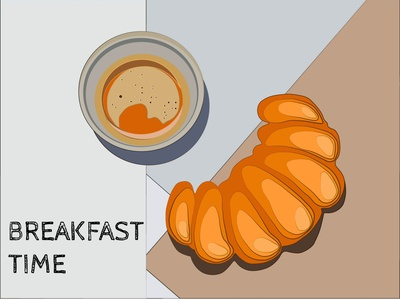 breakfast time typography motion vector logo brand motion design illustration minimal design adobe