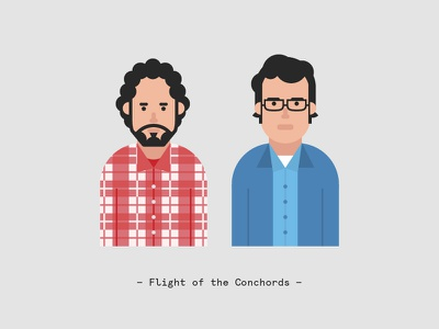 Flight of the Conchords flight of the conchords character