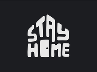 Stay Home - dark version
