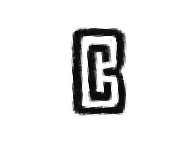 BC logo hat sports ball club sports logo bc monogram typography logo branding icon vector design