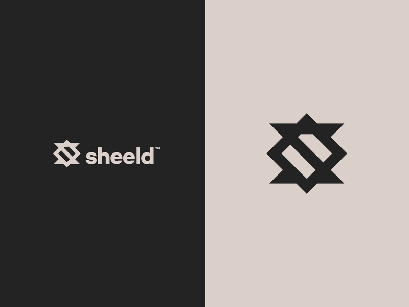 sheeld logo concept s s logo shield logo shield typography minimal iconography logo branding icon vector design illustration