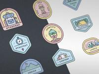 Badge series mockup